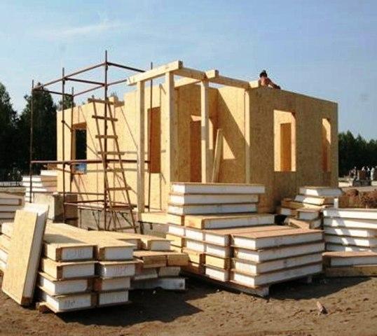Строительство дома из сип панелей своими руками стоимость